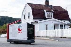 Технології У Норвегії тестують першого робота-листоношу новина норвегія роботи у світі