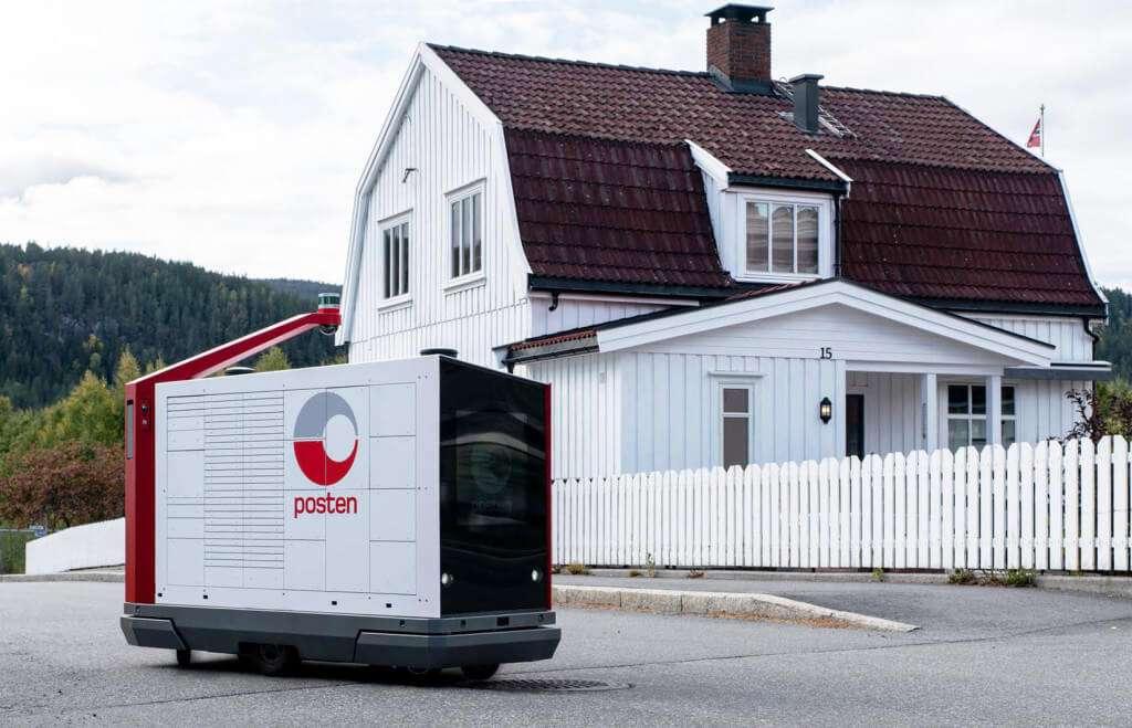 У Норвегії тестують першого робота-листоношу