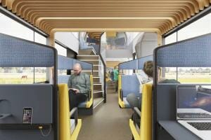 Життя У Нідерландах розробили залізничні вагони для офісної роботи залізниця Нідерланди новина у світі