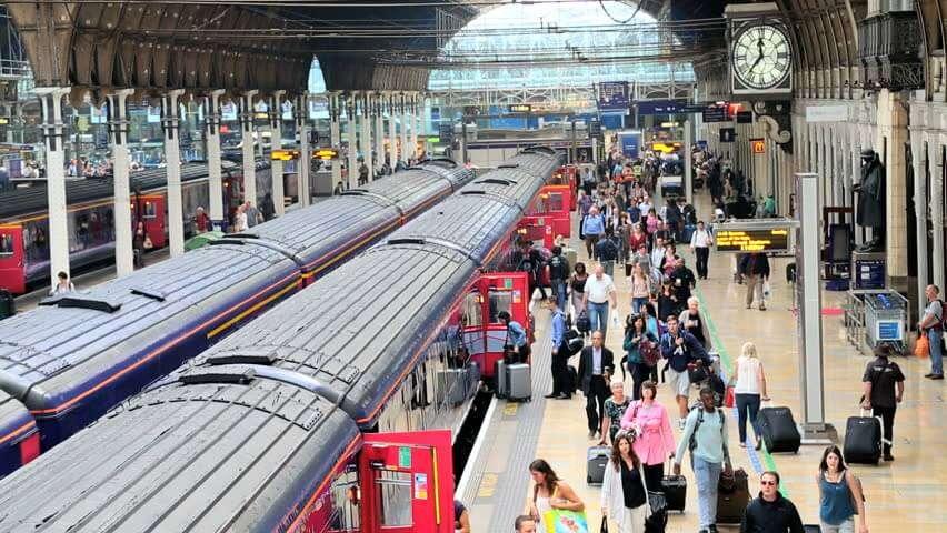 На лондонському вокзалі запустили очистку повітря фільтрами