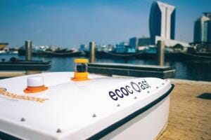Технології У водоймах Дубаї сміття збирає акула-дрон дрон екологія новина ОАЕ у світі