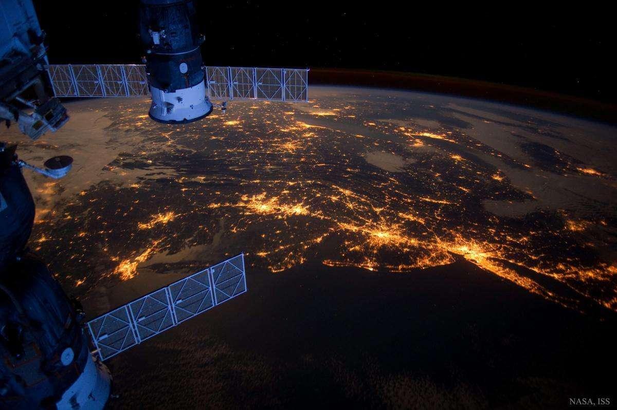 NASA опублікувало перше відео з космосу в якості 8K