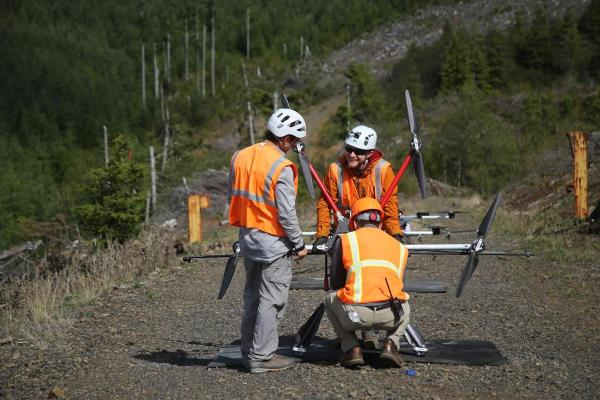 У США дрони відновлюють ліси, самотужки висаджуючи дерева