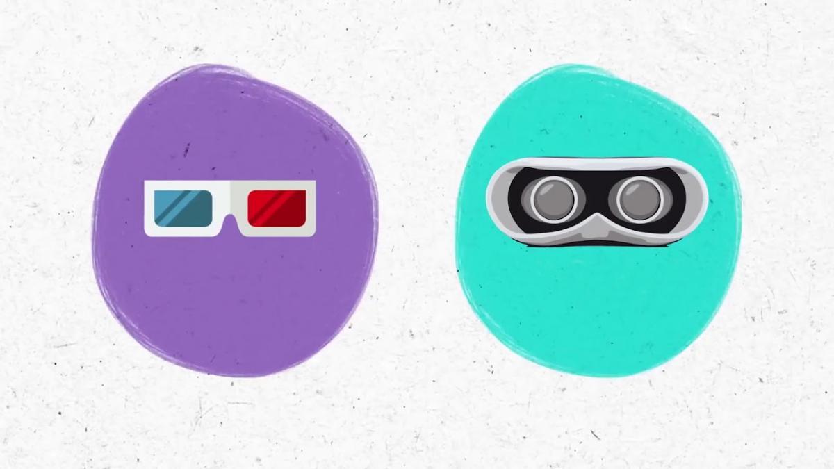 Як працюють об'ємні зображення? (відео VOX)