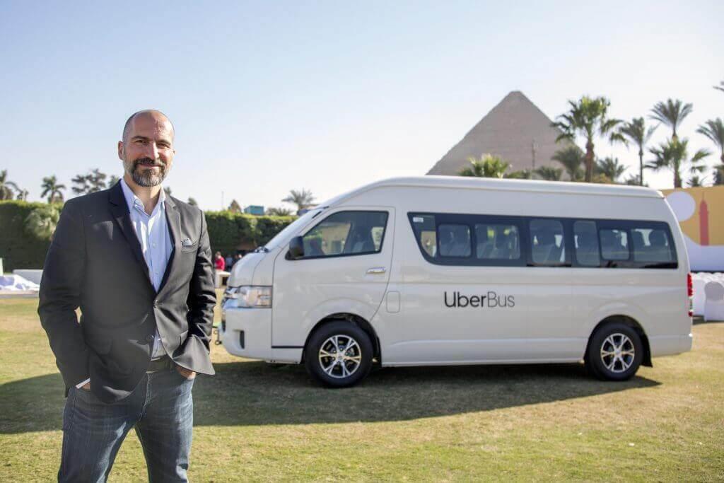 У Єгипті запрацював Uber Bus — за принципом маршрутки