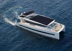 Технології Яхта на сонячних батареях за добу проходитиме 160 км австрія електротранспорт електрочовен новина транспорт у світі
