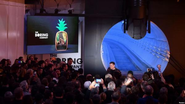 Маск (не) презентував тунель The Boring Company