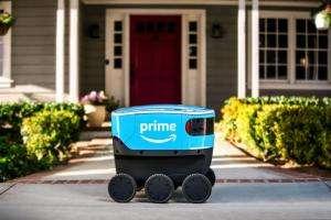 Життя Наземні дрони Amazon самостійно доставлятимуть вантаж amazon дрон сша