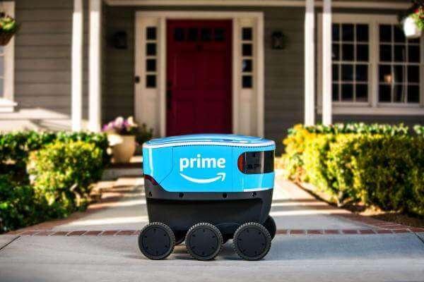 Наземні дрони Amazon самостійно доставлятимуть вантаж
