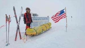 Життя Уперше в історії: людина пішки перетнула Антарктиду антарктика новина Туризм у світі