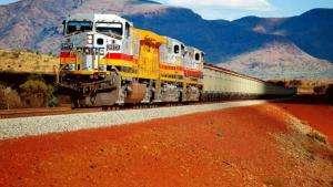 Технології В Австралії залізну руду перевозять 200 безпілотних локомотивів австралія новина Організація роботи роботи транспорт у світі