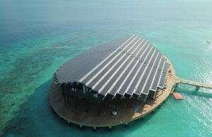 Життя На Мальдівах з'явився острів-курорт, що працює на енергії Сонця екологія енергетика Мальдіви новина сонячні батареї у світі
