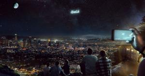 Життя Нічне небо можуть використовувати для гігантської реклами дрон космос у світі