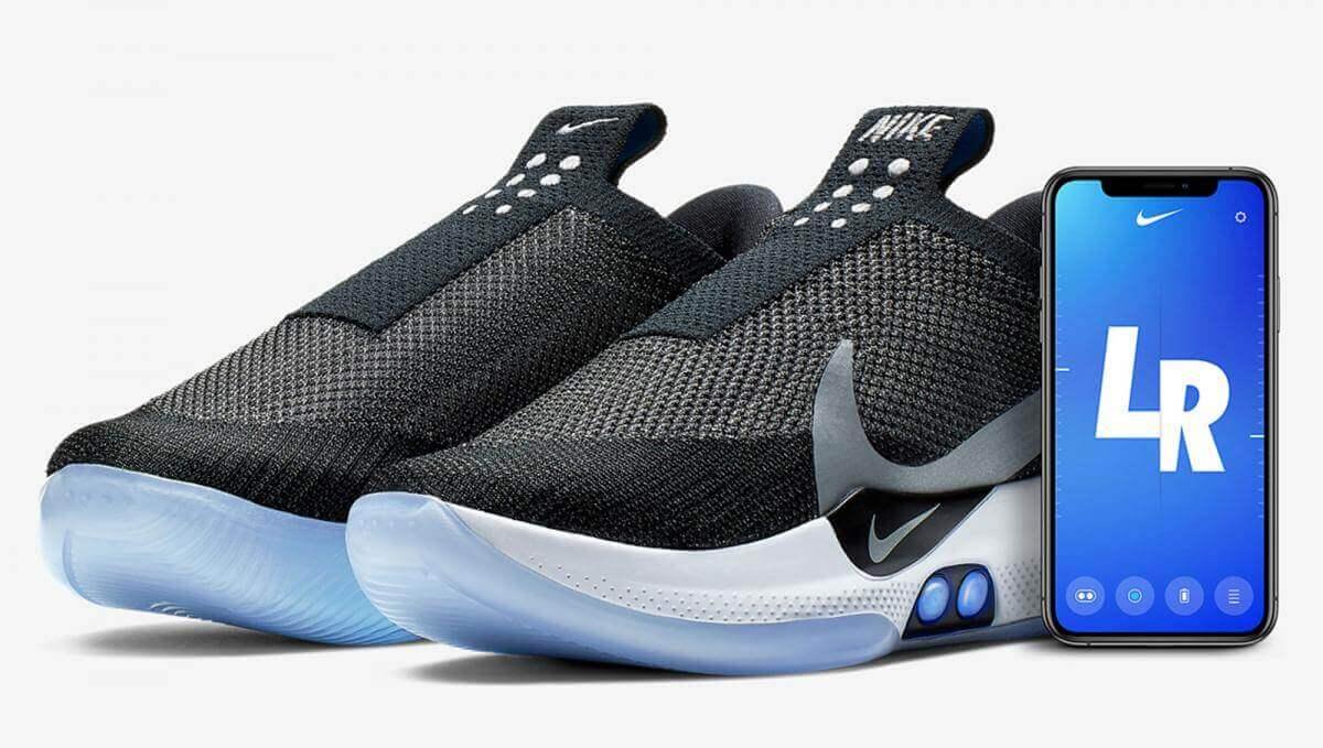Nike представила кросівки, що автоматично зашнуровуються