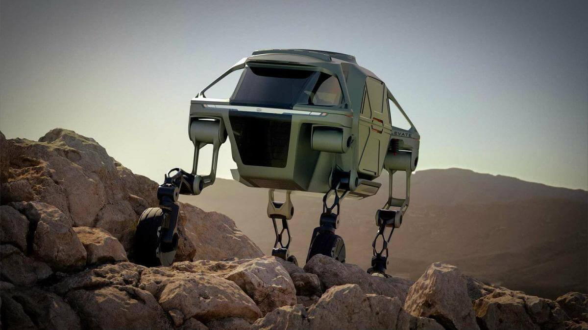 Hyundai створила концепт автомобіля з ногами