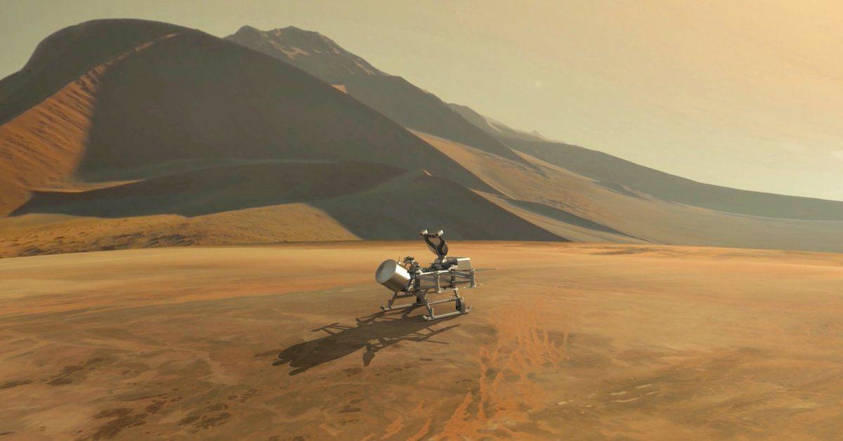 2025 року NASA планує відправити на супутник Сатурна перший безпілотник
