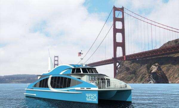 Перший у світі пором на водні курсуватиме затокою Сан-Франциско