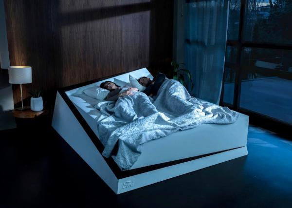 «Розумне» ліжко Ford допоможе берегти свою половину ложа від зазіхань партнера
