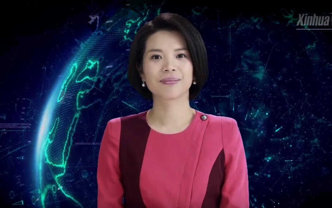 У Китаї телеведучою стала віртуальна жінка зі штучним інтелектом