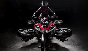 Технології Італійський мотоцикл, що літає, вже можна купити італія новина транспорт у світі