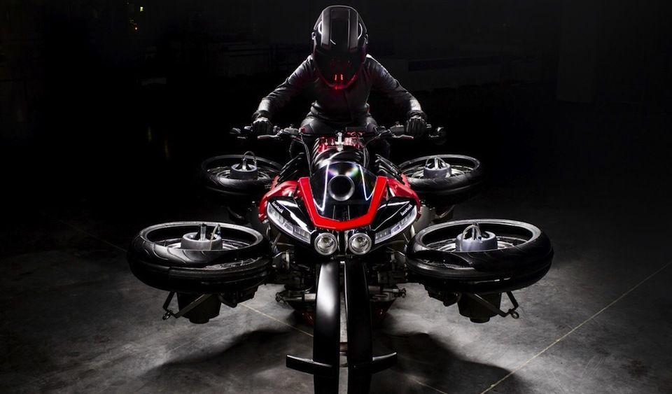 Італійський мотоцикл, що літає, вже можна купити
