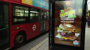 Життя В лондонському транспорті повністю заборонили рекламу шкідливої їжі британія Їжа новина Реклама у світі