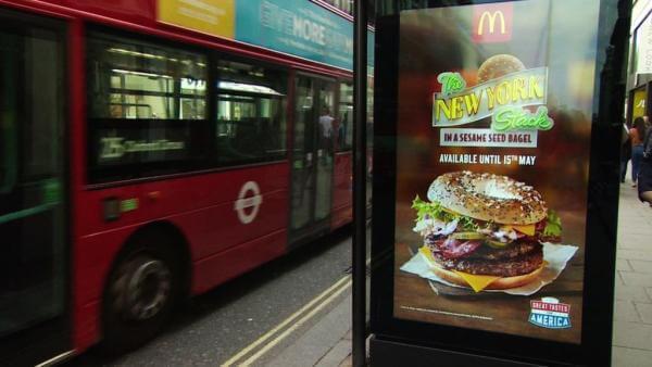 В лондонському транспорті повністю заборонили рекламу шкідливої їжі