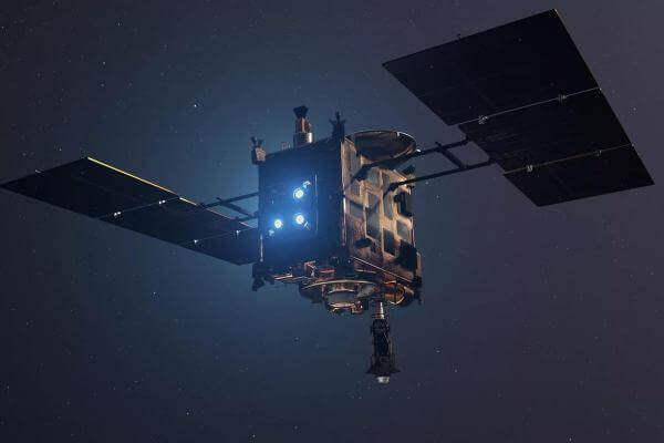 Японський космічний зонд вдало приземлився на астероїд та взяв зразки пилу