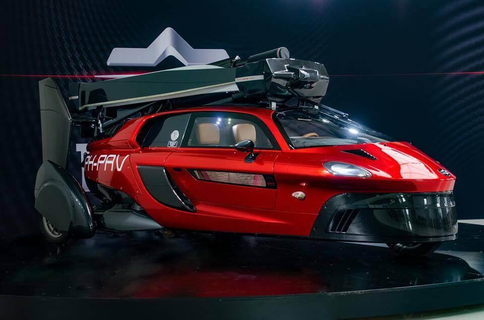 Нідерландці показали перший летючий автомобіль, готовий до серійного випуску
