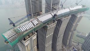 Життя У Китаї збудували горизонтальний хмарочос Будівництво кнр новина у світі