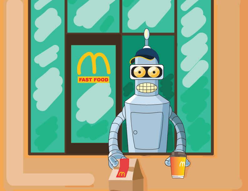 Штучний інтелект на службі в McDonald's