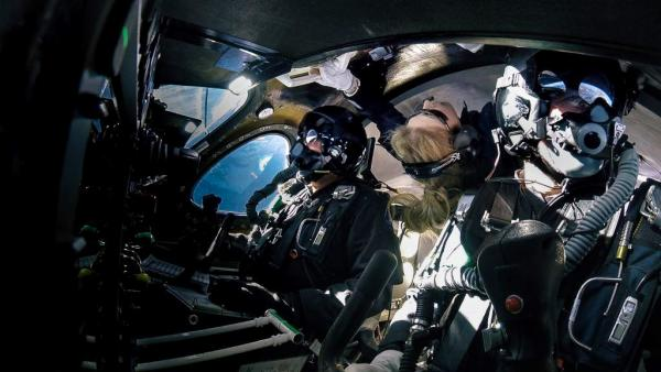Virgin Galactic здійснила перший космічний політ із пасажиром на борту