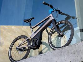 Технології Французький електровелосипед сам розподіляє енергію, аби користувач точно дістався цілі електротранспорт новина у світі франція штучний інтелект