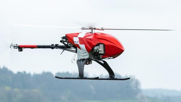 У Швейцарії створили безпілотник для автоматичного пошуку зниклих у горах
