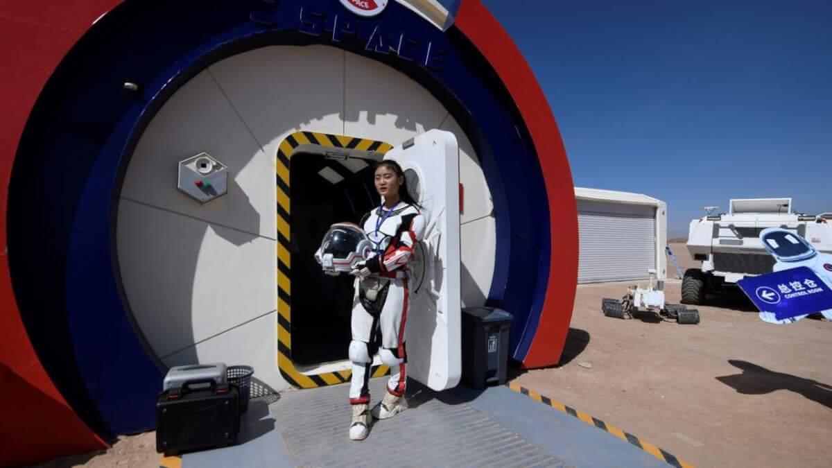 Китай відкрив марсіанську базу на Землі
