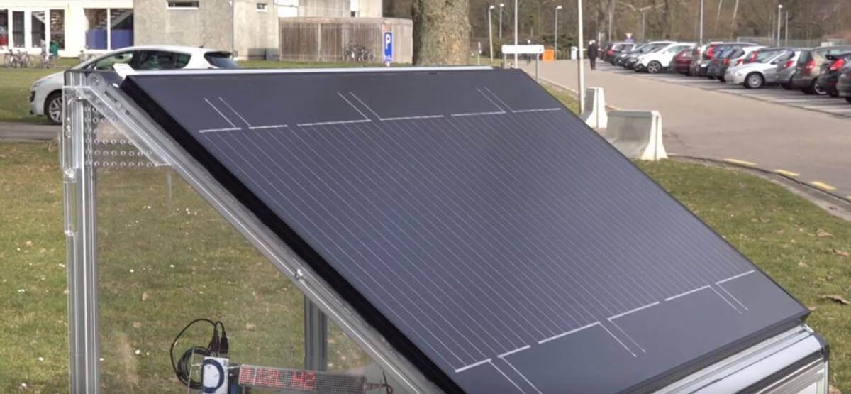Бельгійські вчені створили сонячну панель, що виробляє водень