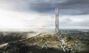 Життя Данія будує найвищий хмарочос Західної Європи Будівництво данія новина у світі