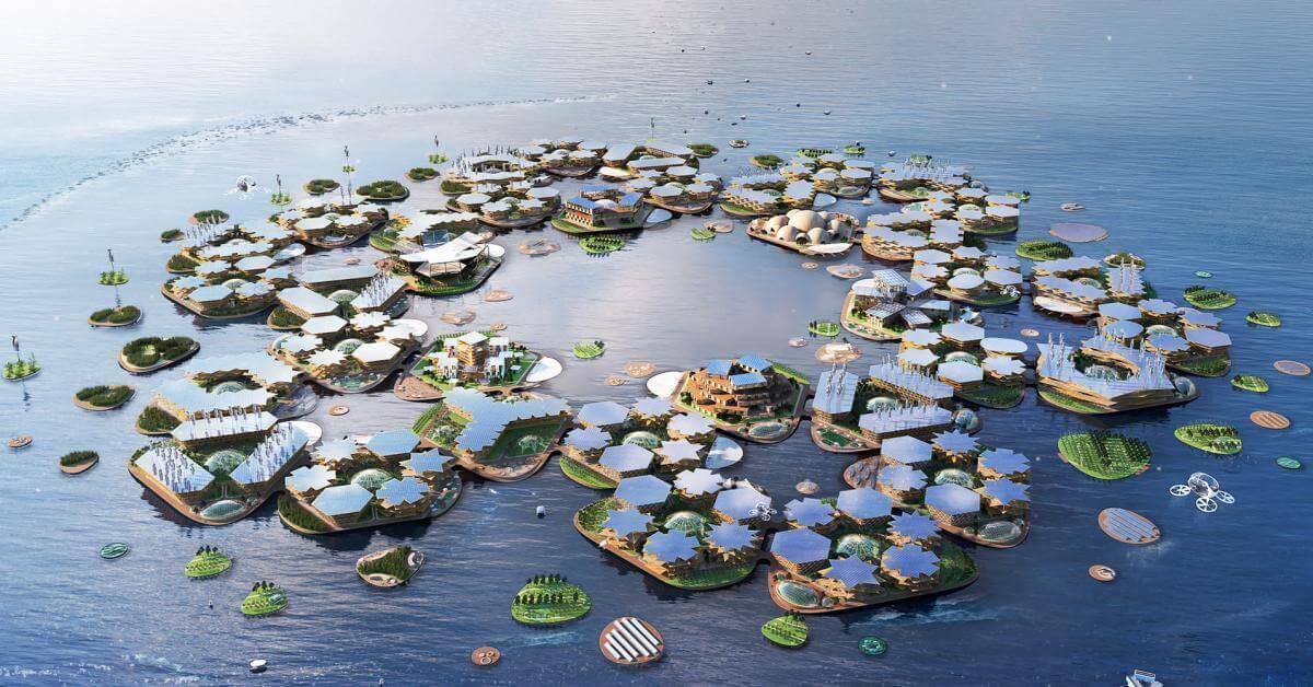 Архітектори створили концепт надводного міста на 10 тис. осіб