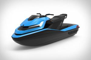 Технології Винайшли електричний гідроцикл із 4К-дисплеєм та круїз-контролем електротранспорт новина сша у світі