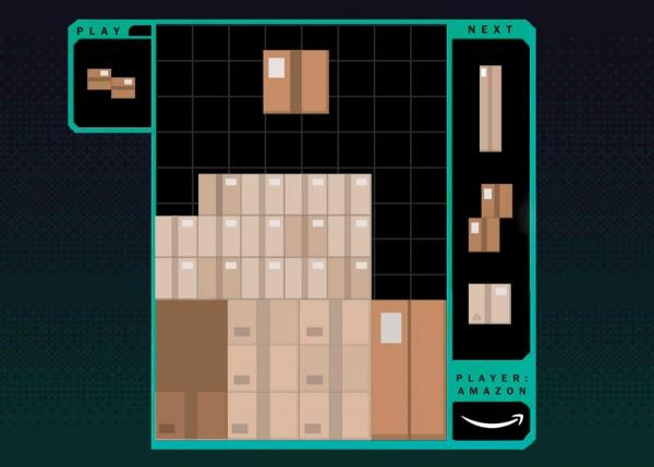 На складах Amazon працівники збирають пакунки, граючи у відеоігри