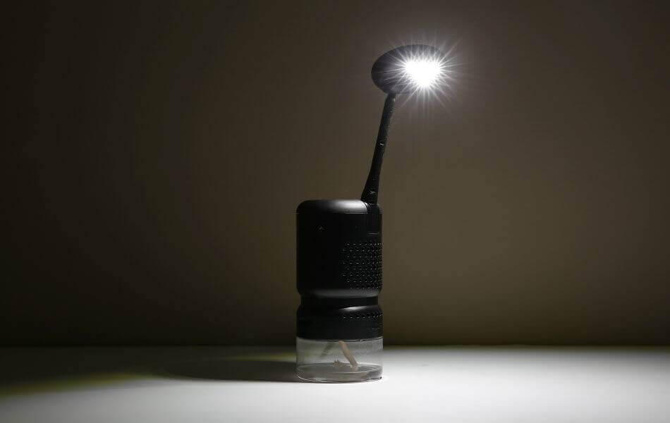 Американський стартап створив лампу, що працює на будь-якій олії