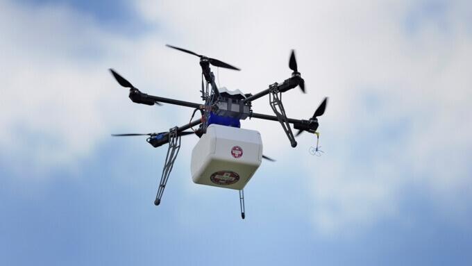 У США вперше використали безпілотник для транспортування донорської нирки