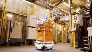Технології У Ford створили самокерованого робота для доставки деталей іспанія новина Організація роботи роботи у світі