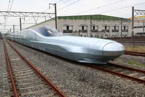 Життя У Японії почалися випробування найшвидшого потяга у світі новина транспорт у світі японія