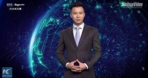 Життя Китай продав віртуального телеведучого арабському телебаченню ЗМІ кнр новина ОАЕ у світі штучний інтелект