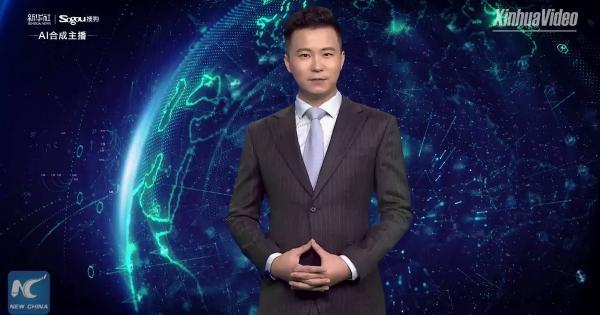 Китай продав віртуального телеведучого арабському телебаченню