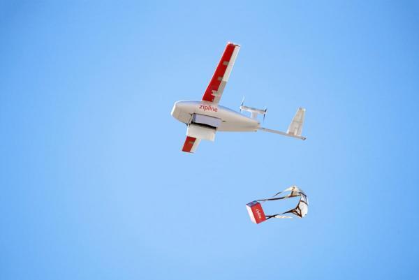 У Гані з'явиться найбільша у світі мережа доставки ліків дронами