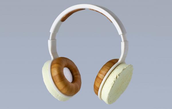 Фінські інженери створили навушники з гриба та біопластику
