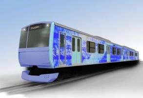 Технології 2021 року в Японії випробують потяг на водні екологія новина транспорт у світі японія