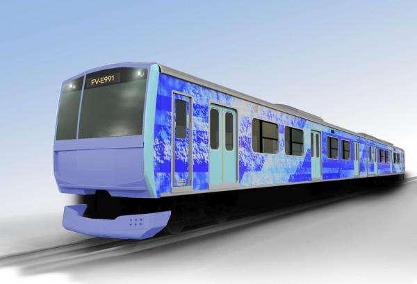 2021 року в Японії випробують потяг на водні